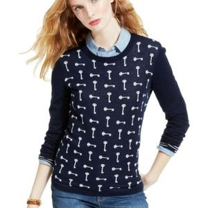 Tommy Hilfiger Pima Cotton Key Print Sweater